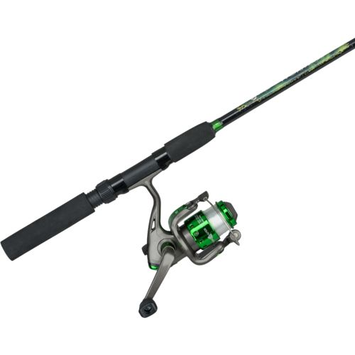 South bend worm gear 5 39 6 m 2 piece spinning rod and reel for Academy fishing poles