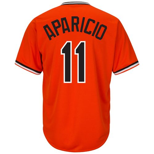 Majestic Men's Baltimore Orioles Luis Aparicio #11 Cooperstown Cool Base 1965-66 Replica Jersey