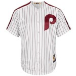 Majestic Men's Philadelphia Phillies Mike Schmidt #20 Cooperstown Cool Base 1980 Replica Jersey - view number 2