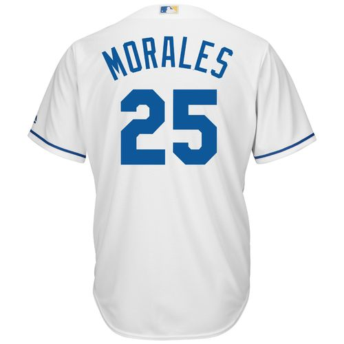 Majestic Men's Kansas City Royals Kendrys Morales #25 Cool Base Replica Jersey