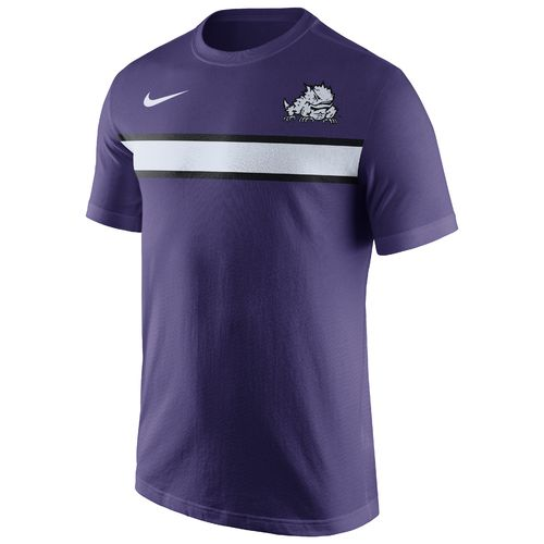 Nike Men's Texas Christian University Cotton Team Stripe