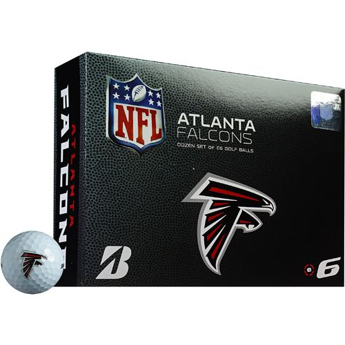 Bridgestone Golf Atlanta Falcons e6 Golf Balls 12-Pack