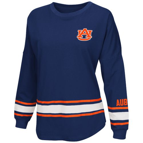Display product reviews for Colosseum Athletics™ Women's Auburn University All Around Oversize Long Sleeve T-shirt