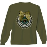 New World Graphics Women's Baylor University Ribbon Bow Long Sleeve T-shirt