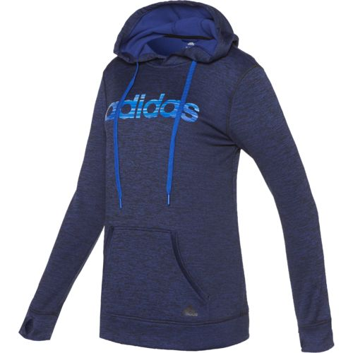 Display product reviews for adidas Women's Team Issue Logo Fleece Pullover Hoodie