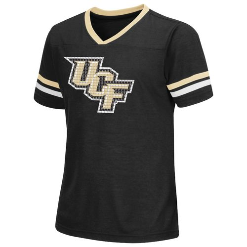 Colosseum Athletics™ Girls' University of Central Florida Titanium T-shirt