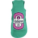 Three Squared Juniors' Auburn University Antoinette Tank Top