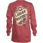 Three Squared Juniors' Lamar University Maya Long Sleeve T-shirt