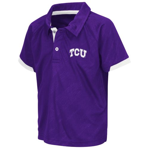Colosseum Athletics™ Toddlers' Texas Christian University Spiral Polo Shirt