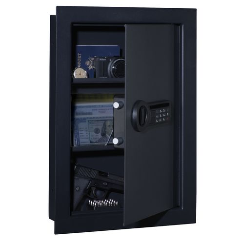 Stack-On In-Wall Electronic Lock Safe - view number 2