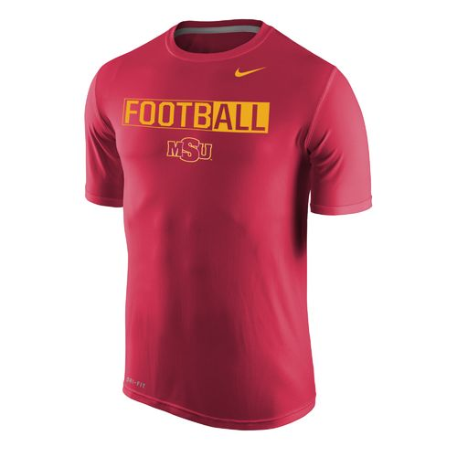 Nike™ Men's Midwestern State University Dri-FIT Legend 2.0 Short Sleeve T-shirt