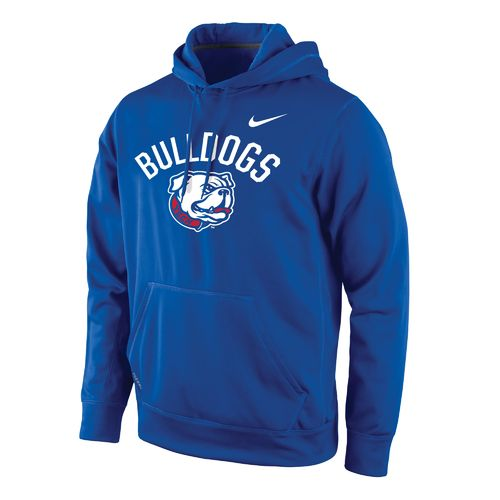 Nike™ Men's Louisiana Tech University Therma-FIT Pullover Hoodie