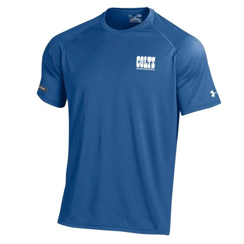 Under Armour™ NFL Combine Authentic Men's Indianapolis Colts Core Tech T-shirt