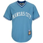 Majestic Men's Kansas City Royals Willie Wilson #6 Cool Base Cooperstown Jersey - view number 3