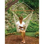 Algoma Cotton Rope Hanging Chair - view number 3