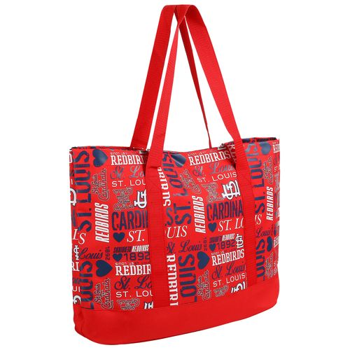 Forever Collectibles™ Women's St. Louis Cardinals Collage Tote Bag