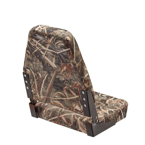 Marine Raider Camo High-Back Boat Seat - view number 2