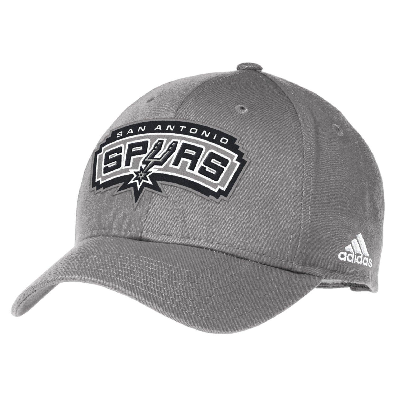 adidas™ Men's San Antonio Spurs Structured Adjustable Cap