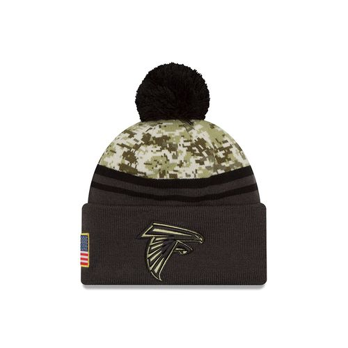 New Era Men's Atlanta Falcons Salute to Service Knit Cap