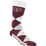 FBF Originals Adults' Texas A&M University Team Pride Flag Top Dress Socks