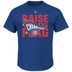 Majestic Men's Chicago Cubs 2016 NLCS Champions Locker Room T-shirt