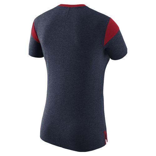 Nike Women's University of Mississippi Fan V Top T-shirt - view number 2
