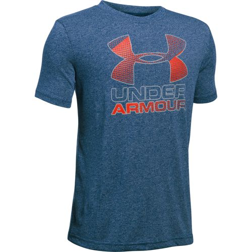 Under Armour Boys' Big Logo Hybrid T-shirt - view number 1