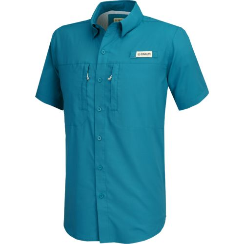 Magellan Outdoors Men's Falcon Bay Short Sleeve Fishing Shirt
