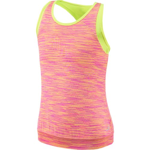BCG Girls' Twofer Space Dye Tank Top - view number 1