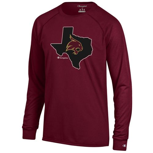 Champion™ Men's Texas State University Long Sleeve T-shirt