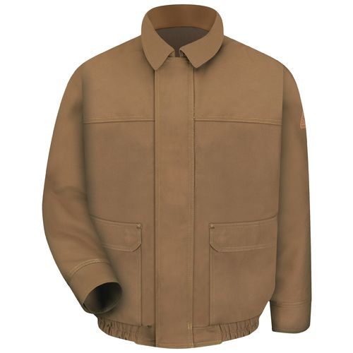 Bulwark Men's Flame Resistant Duck Lined Bomber Jacket - view number 1