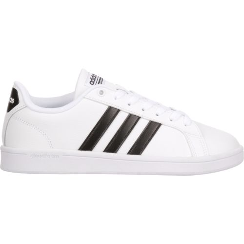 adidas Women's cloudfoam Advantage Stripe Shoes - view number ...