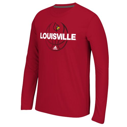 adidas™ Men's University of Louisville Fade Away Ultimate Long Sleeve T-shirt