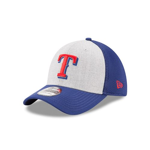New Era Men's Texas Rangers 39THIRTY Heathered Neo Cap