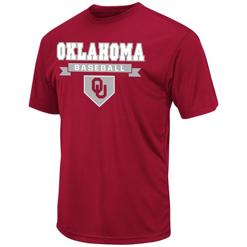Colosseum Athletics™ Men's University of Oklahoma Baseball T-shirt