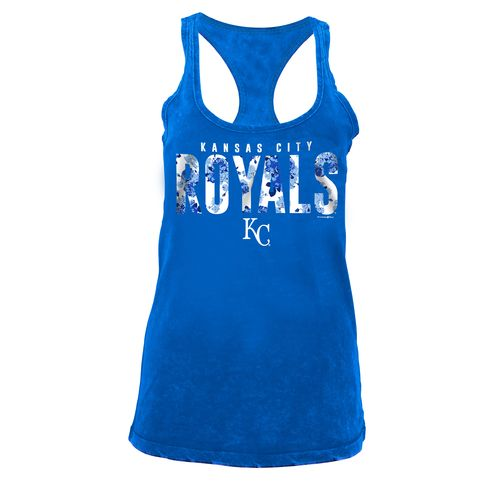 5th & Ocean Clothing Women's Kansas City Royals Floral Tank Top