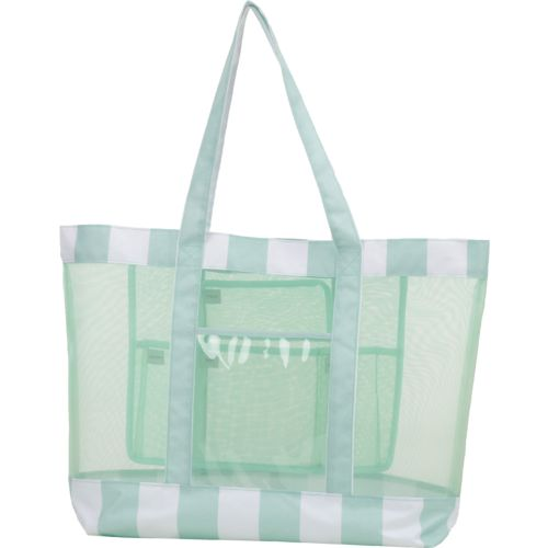 Academy Sports + Outdoors Mesh Beach Tote Stripe