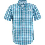 Magellan Outdoors Men's Padre Island Plaid Short Sleeve Shirt - view number 3