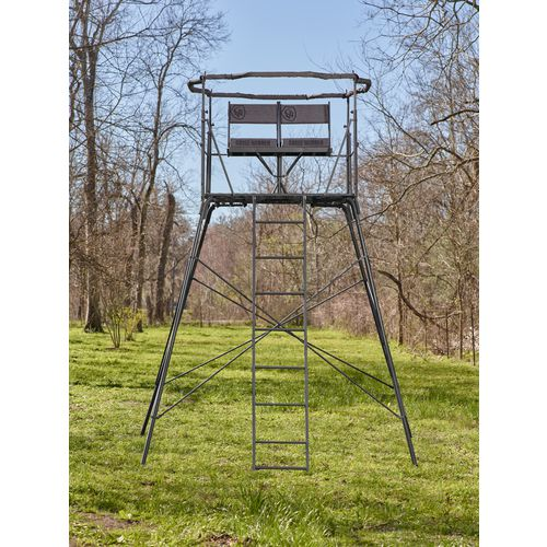 Display product reviews for Game Winner 2-Man Quad Pod Hunting Stand