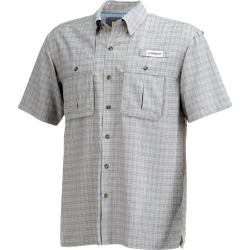 Magellan Outdoors Men's Aransas Pass Tonal Plaid Short Sleeve Shirt - view number 3