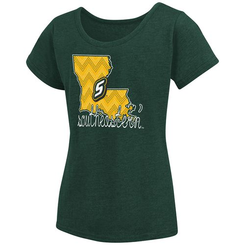 Colosseum Athletics™ Girls' Southeastern Louisiana University Tissue 2017 T-shirt - view number 1