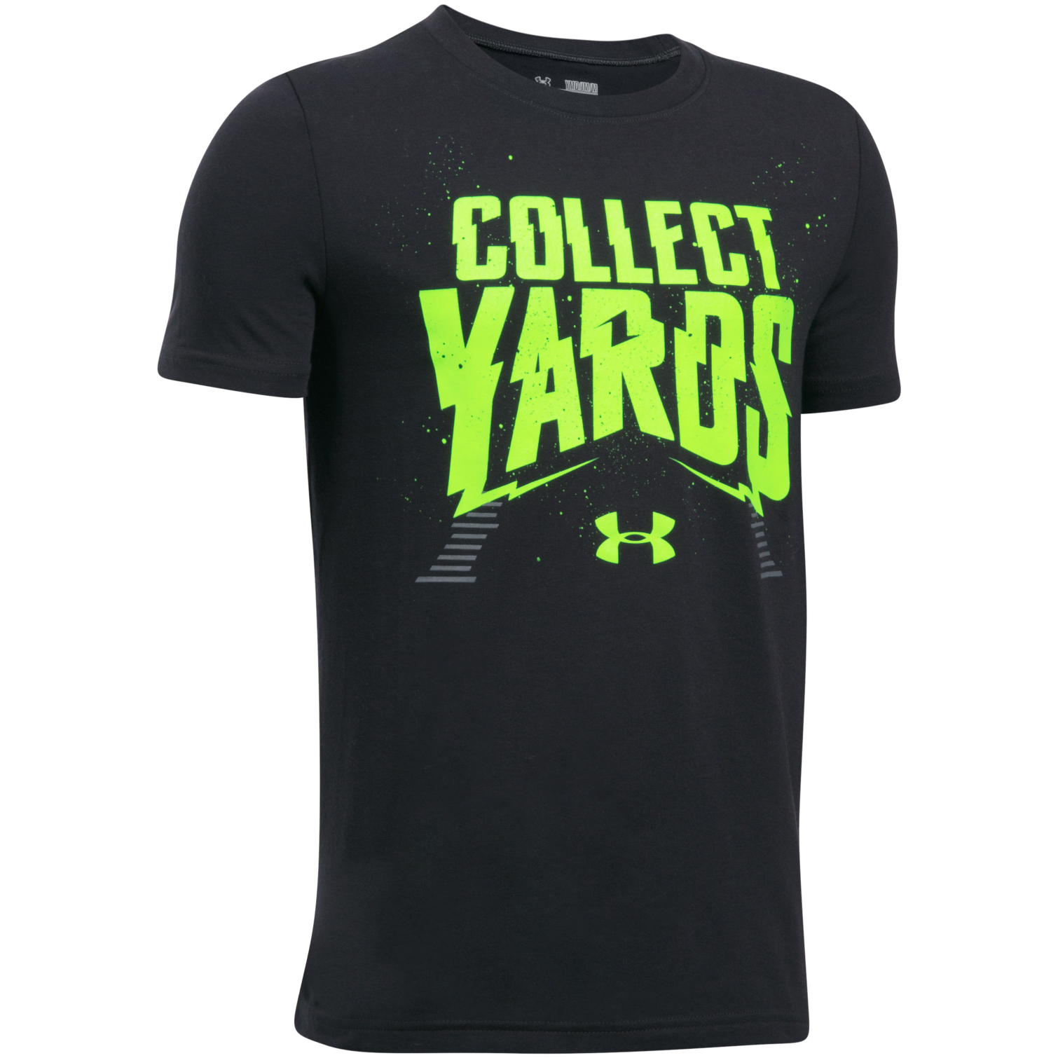 Under Armour Boys' Collect Yards Football Short Sleeve T-shirt
