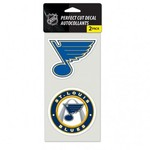 WinCraft St. Louis Blues Perfect Cut Decals 2-Pack - view number 1