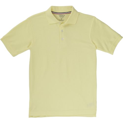 Display product reviews for French Toast Boys' Short Sleeve Pique Polo Shirt