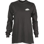 Three Squared Juniors' University of Arkansas Tower Long Sleeve T-shirt - view number 2