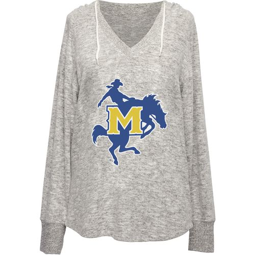 Chicka-d Women's McNeese State University V-neck Hoodie