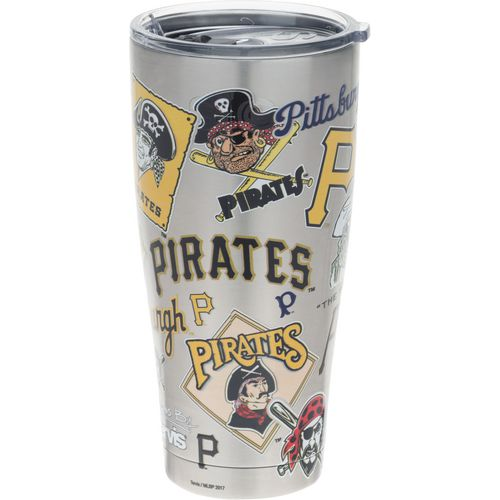 Tervis Pittsburgh Pirates All Over 30 oz Stainless-Steel Tumbler