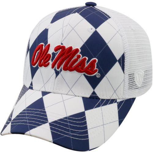 Top of the World Men's University of Mississippi Get Loud 2-Tone Adjustable Cap