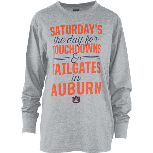 Three Squared Juniors' Auburn University Touchdowns and Tailgates T-shirt
