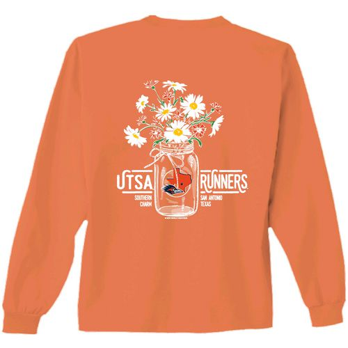 New World Graphics Women's University of Texas at San Antonio Bouquet Long Sleeve T-shirt